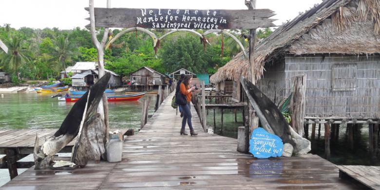 Wisata Papua Barat Desa Sawinggai