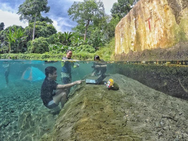 Wisata Lampung Mata Air Way Sumpuk