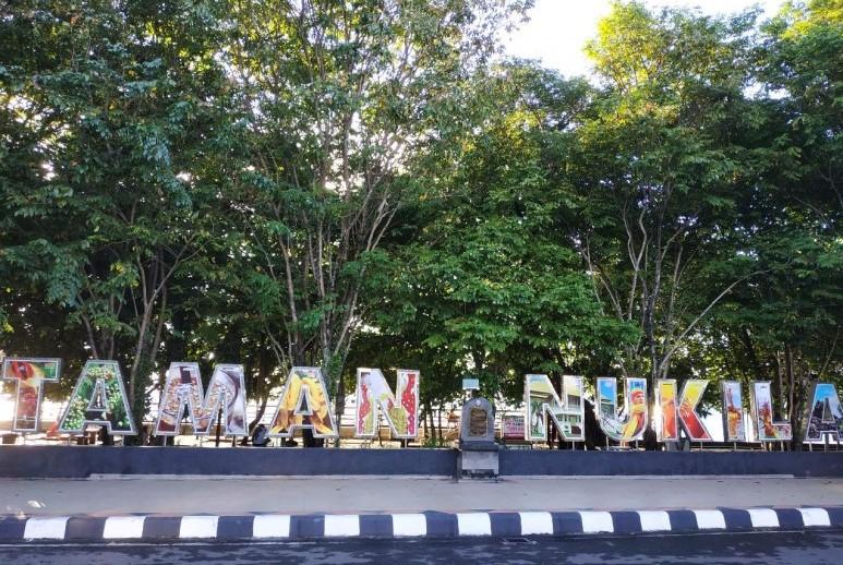 Taman Nukila di Maluku Utara