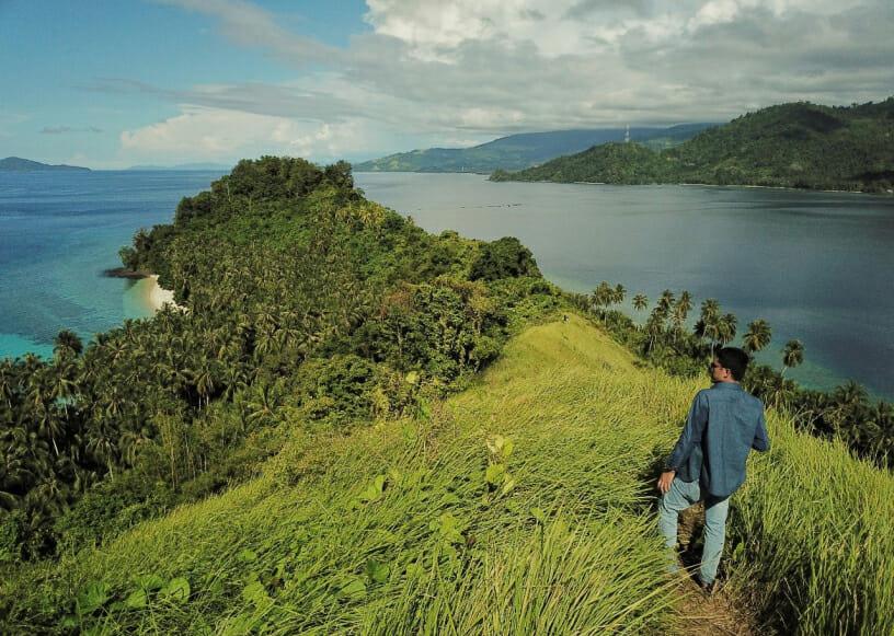 Wisata Gorontalo Pulau Diyonumo