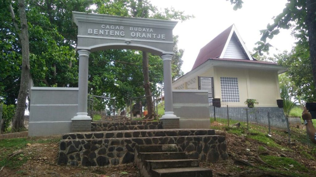 Wisata Maluku Utara Fort Oranje