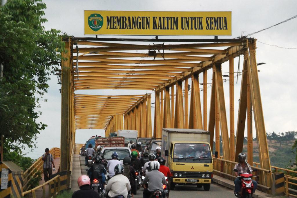 Wisata Samarinda Jembatan Mahakam