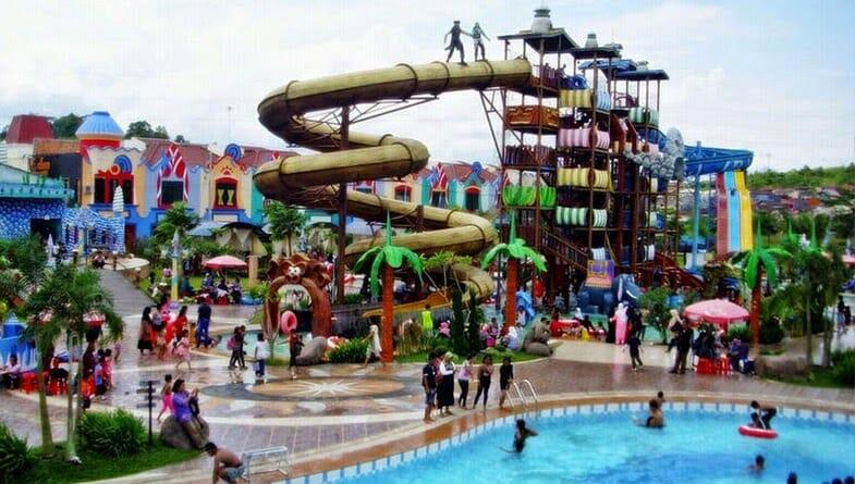 Wisata Samarinda Jessica Water Park