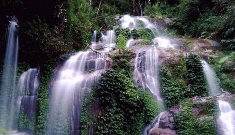 Wisata Jambi Air Terjun Talang Kemulun