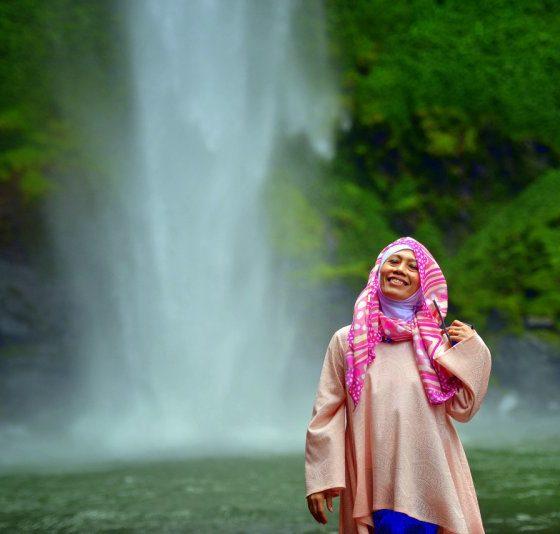 Wisata Lampung Air Terjun Putri Malu