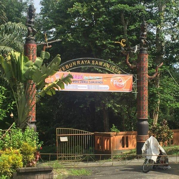 Wisata Samarinda Kebun Raya Unmul