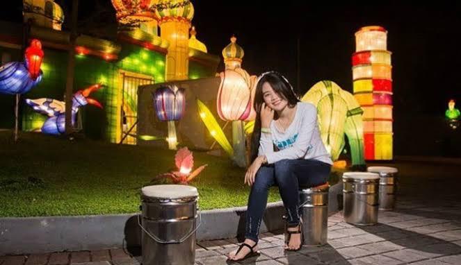 Wisata Samarinda Mahakam Lampion Garden