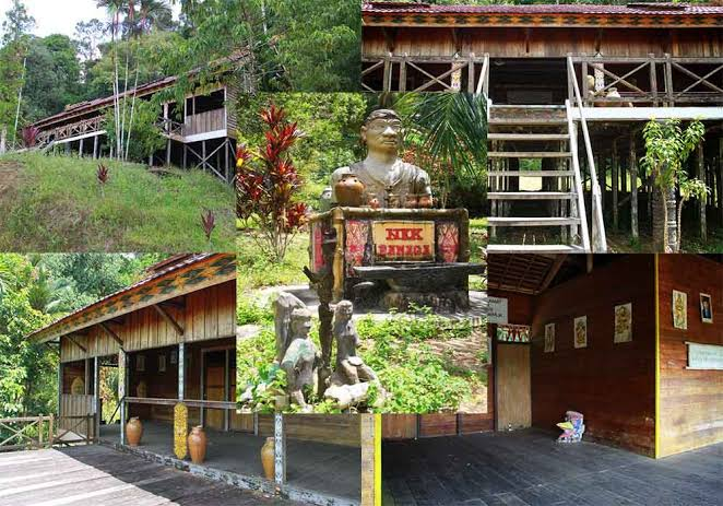 Wisata Rumah Bentang Samalantan, Bengkayang-Singkawang, Kalimantan Barat