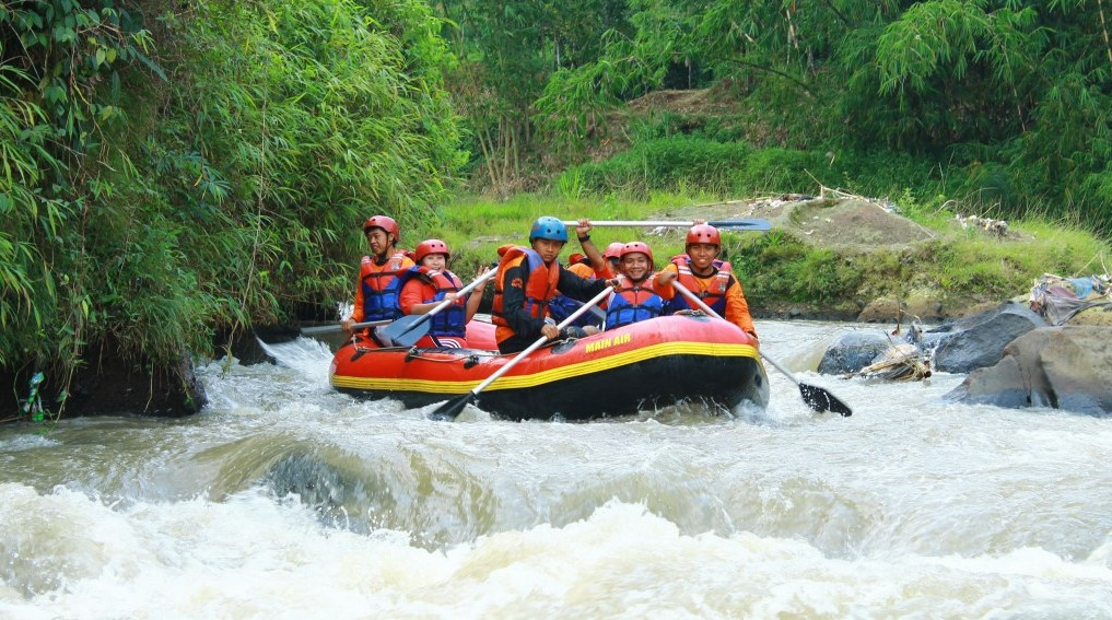 Arung Jeram Timbukar, photo by IDN Times