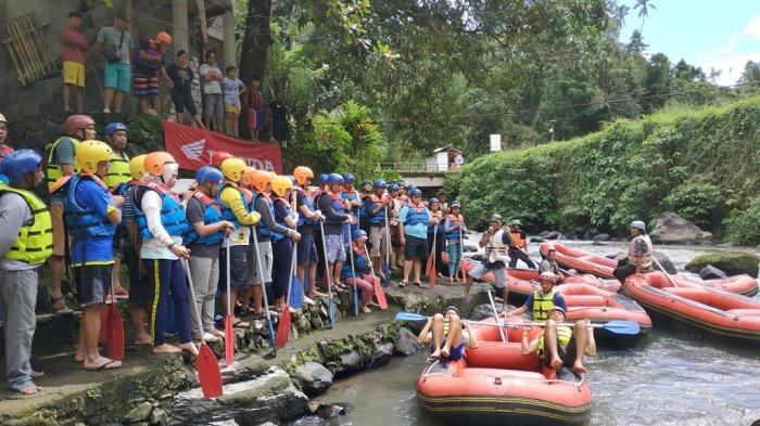 Arung Jeram Timbukar, photo by Tribunnews