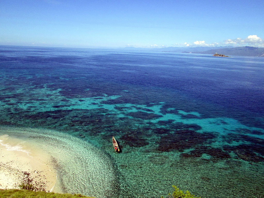 Taman Laut Tumbak, photo by Seputar Sulut
