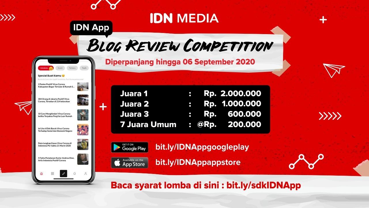 Lomba Menulis Blog Review dari IDN App