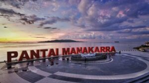 Anjungan Pantai Manakarra, photo by Native Indonesia