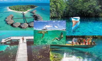 Destinasi Wisata di Berau, Kalimantan Timur yang Berikan Pemandangan Surga Pantai