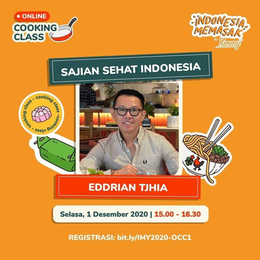 Eddrian Tjhia di Indonesia Memasak by Yummy