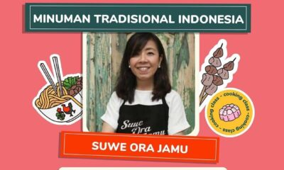Online Cooking Class Minuman Tradisional Indonesia bersama Suwe Ora Jamu!