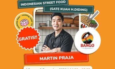 Online Cooking Class Indonesian Street Food bersama Martin Praja