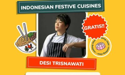 Online Cooking Class Indonesian Festive Cuisines bersama Desi Trisnawati di Indonesia Memasak by Yummy