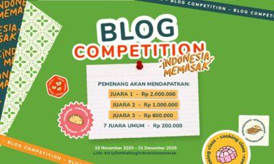 Lomba Menulis Bertema Indonesia Memasak by Yummy